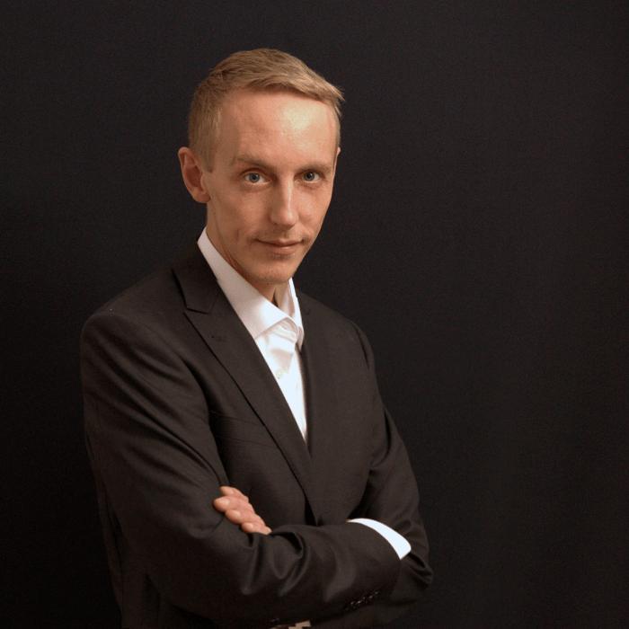 Andreas ist für die technische Umsetzung verantwortlich.