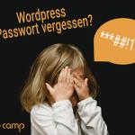 Wordpress Passwort vergessen? Die Lösung!