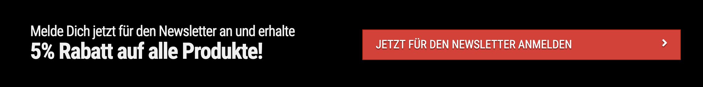 Beispiel eines Buttons der via Klick das Mailchimp Opt-In öffnet